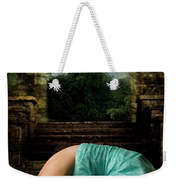 Weekender Tote Bag featuring the photograph Princess Study by Clayton Bastiani