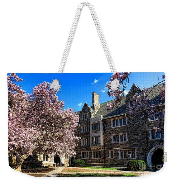 Princeton University Pyne Hall Courtyard Weekender Tote Bag