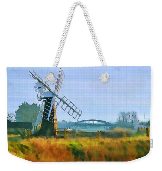 Priory Windmill Weekender Tote Bag