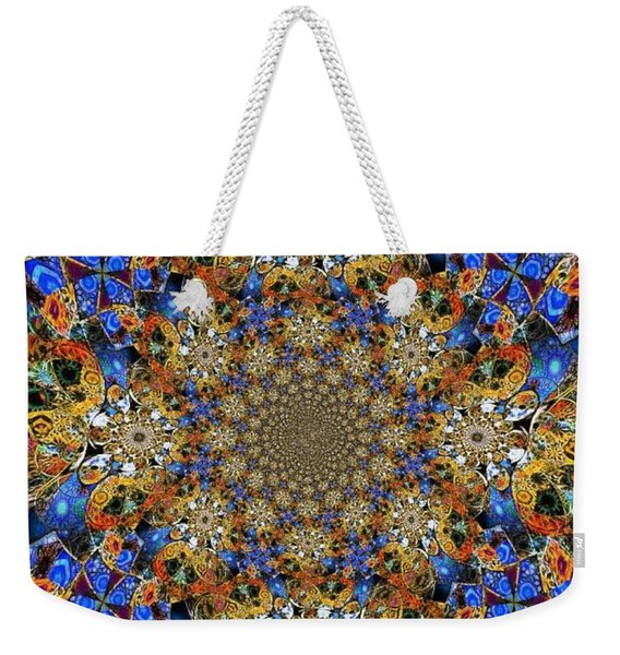 Prismatic Glasswork Weekender Tote Bag