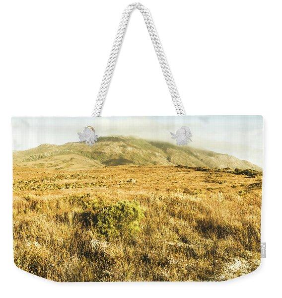 Pristine Mountain Plains Weekender Tote Bag