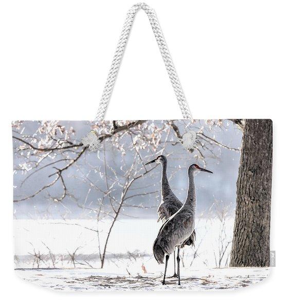 Profiles In Elegance Weekender Tote Bag
