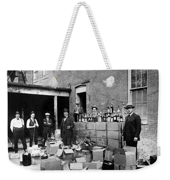 Prohibition, 1922 Weekender Tote Bag