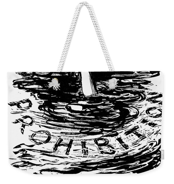 Prohibition Cartoon, 1920s - To License For Professional Use Visit Granger.com Weekender Tote Bag