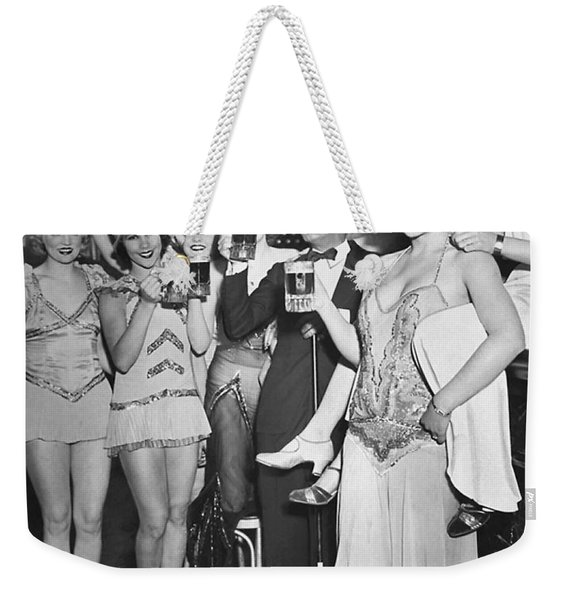 Prohibitions Over Weekender Tote Bag