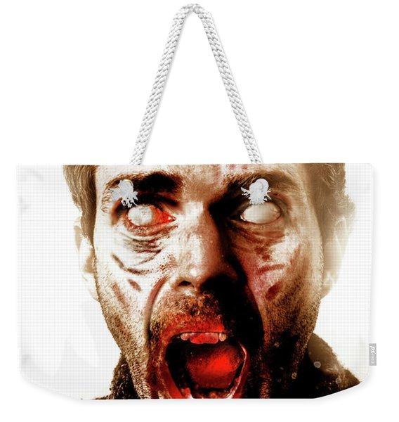 Project Depopulation Weekender Tote Bag