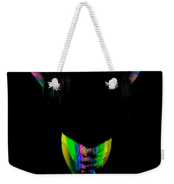 Projected Body Paint 2094999b Weekender Tote Bag