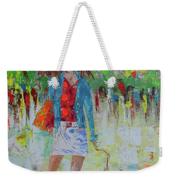 Promade Avec Mon Chien Weekender Tote Bag