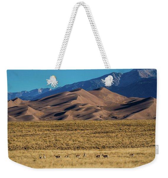 Pronghorn Sunrise Weekender Tote Bag