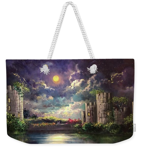 Proposal Underneath The Moon Weekender Tote Bag