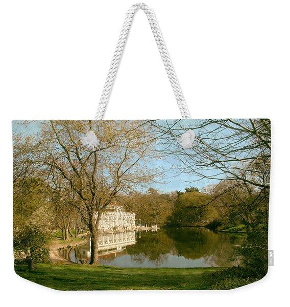 Prospect Park Boathouse Weekender Tote Bag