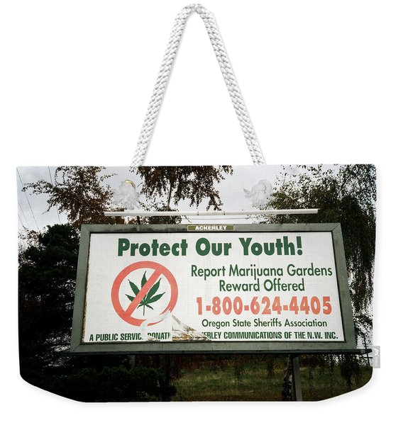 Protect Our Youth Weekender Tote Bag