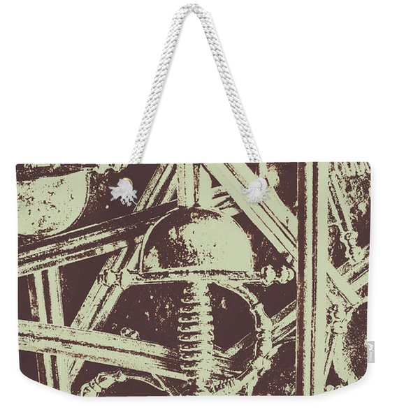 Protecting The Iron Gate Weekender Tote Bag