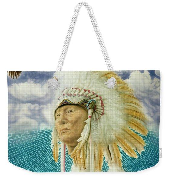 Proud As An Eagle Weekender Tote Bag