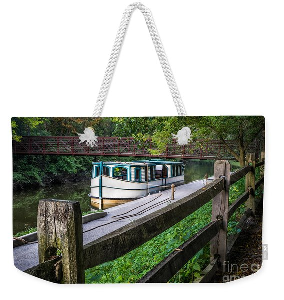 Providence Metropark Erie Canal  Weekender Tote Bag