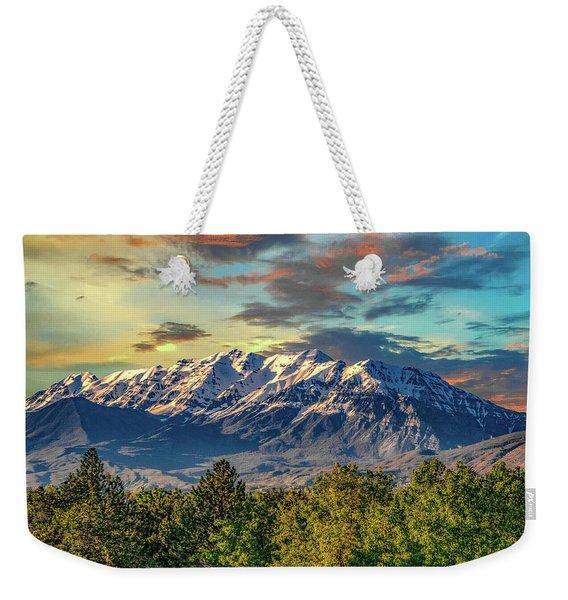 Provo Peaks Weekender Tote Bag