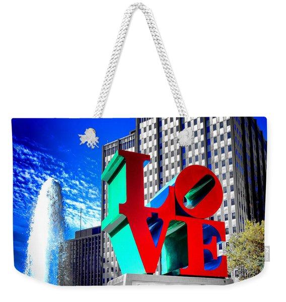 Psychedelic Love  Weekender Tote Bag
