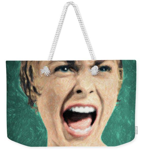 Psycho Shower Scene Weekender Tote Bag