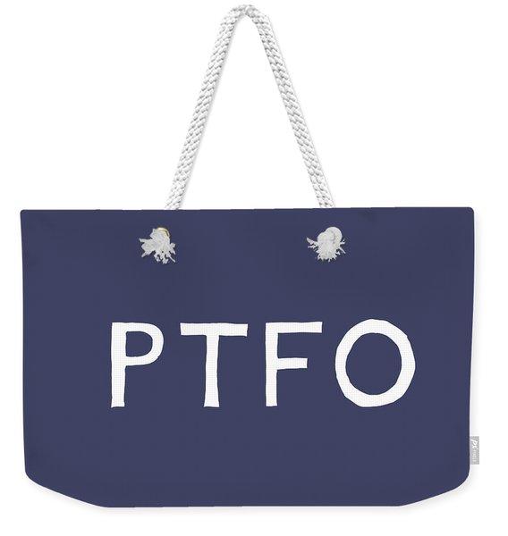 Ptfo- Art By Linda Woods Weekender Tote Bag