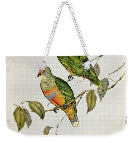 Ptilinopus Ewingii Weekender Tote Bag