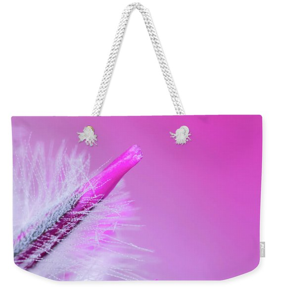 Ptilotus Macro Weekender Tote Bag