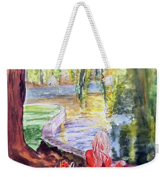 Public Garden Picnic Weekender Tote Bag