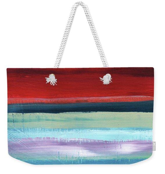 Pueblo- Abstract Art By Linda Woods Weekender Tote Bag