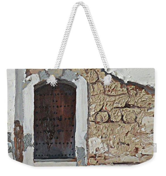 Puerto Rico Door Weekender Tote Bag
