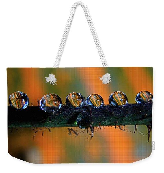 Pumpkin Drops Weekender Tote Bag