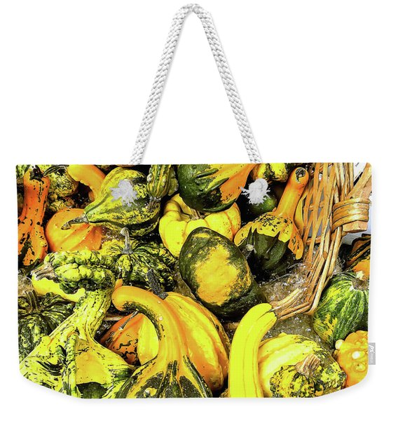 Pumpkin Family Weekender Tote Bag