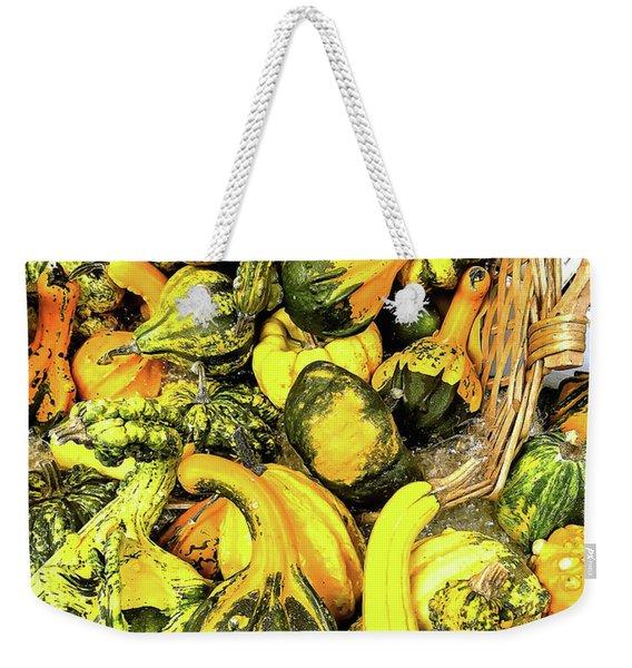Pumpkin Family Weekender Tote Bag