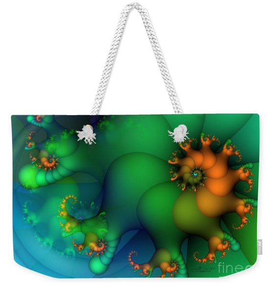 Pumpkin Garden Weekender Tote Bag