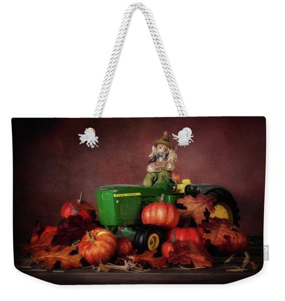 Pumpkin Patch Whimsy Weekender Tote Bag