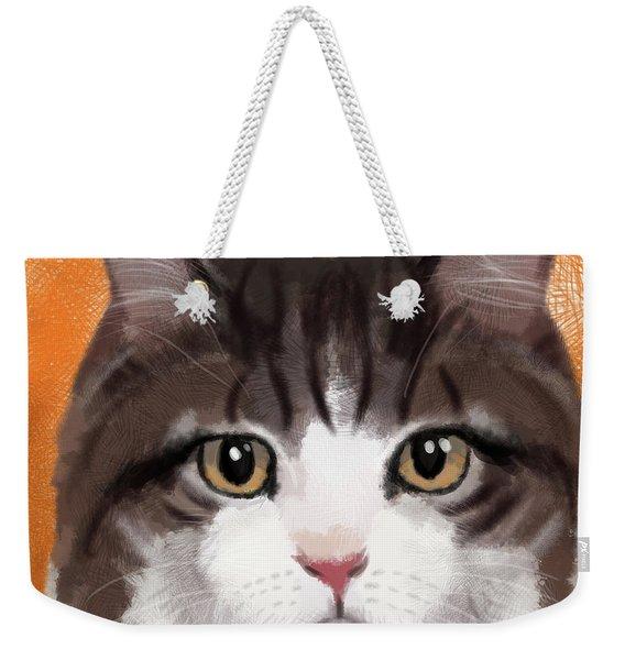 Pumpkin Spice Weekender Tote Bag