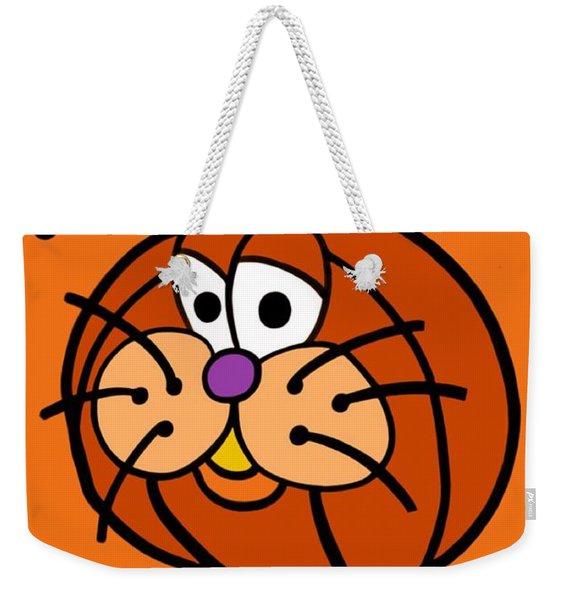 Pumpkincat Weekender Tote Bag