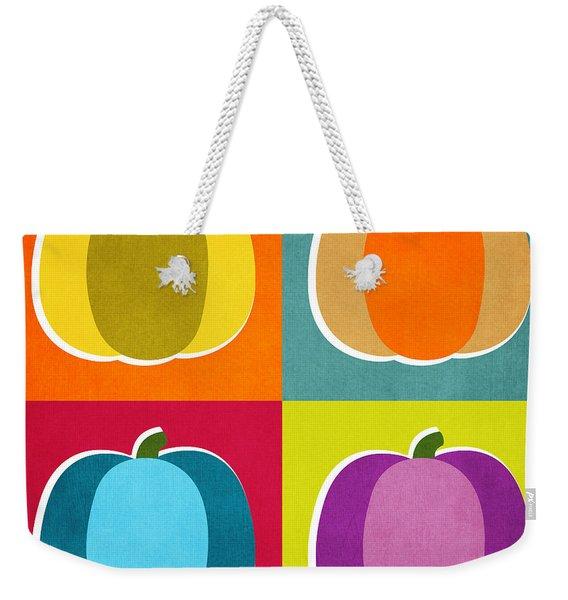 Pumpkins- Pop Art By Linda Woods Weekender Tote Bag