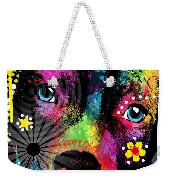 Puppy  Weekender Tote Bag