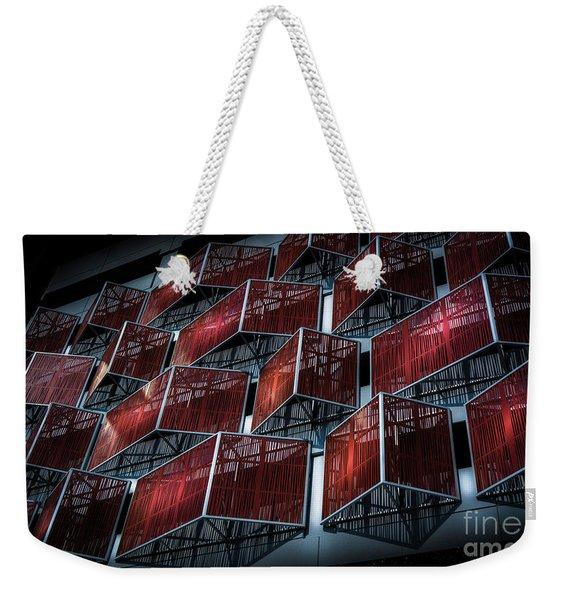 Pure Geometry Weekender Tote Bag