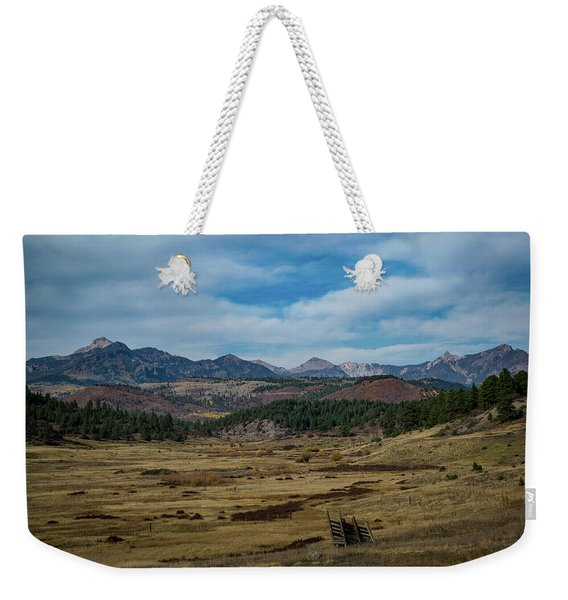 Weekender Tote Bag featuring the photograph Pure Isolation by Jason Coward