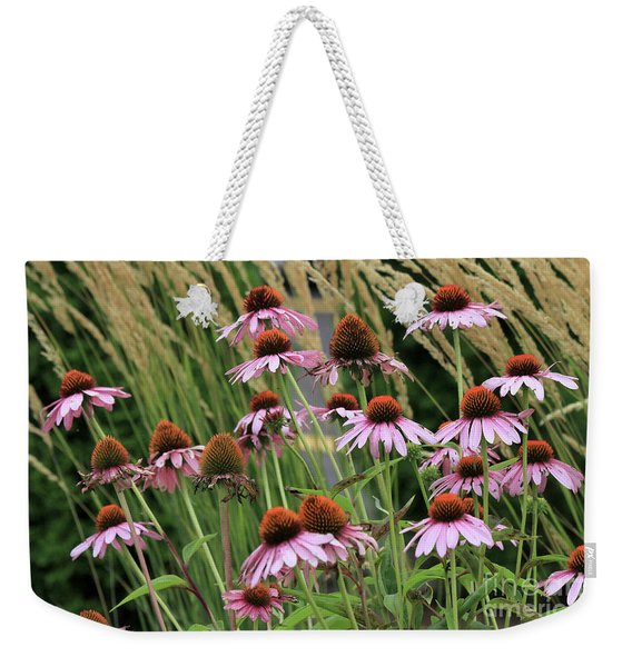 Purple Coneflowers Weekender Tote Bag