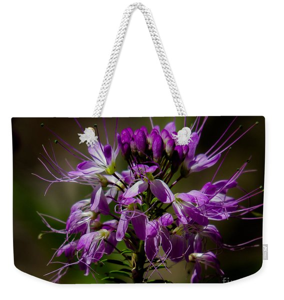 Purple Flower 1 Weekender Tote Bag