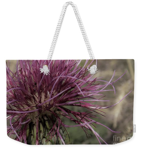 Purple Flower 2 Weekender Tote Bag