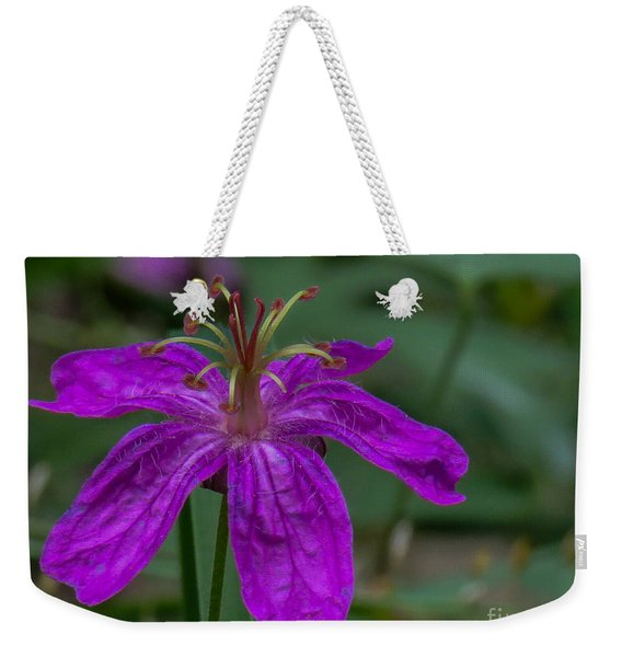 Purple Flower 5 Weekender Tote Bag
