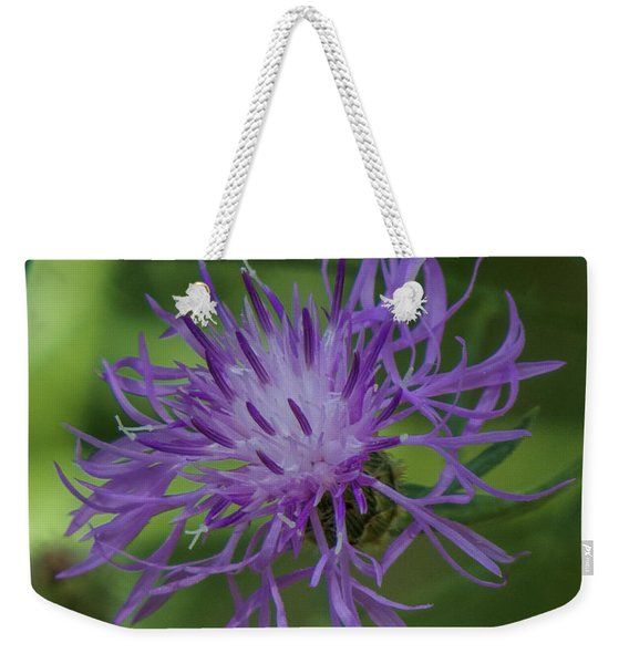 Purple Flower 8 Weekender Tote Bag
