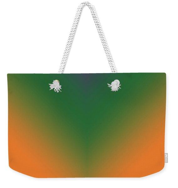 Purple, Green And Orange Weekender Tote Bag