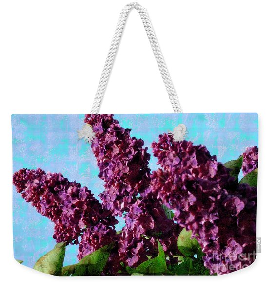 Purple Lilac 2 Weekender Tote Bag
