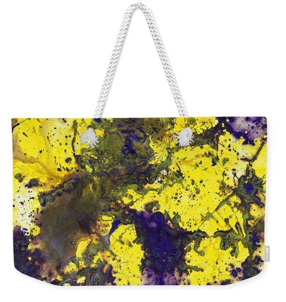 Purple Married Yellow Weekender Tote Bag