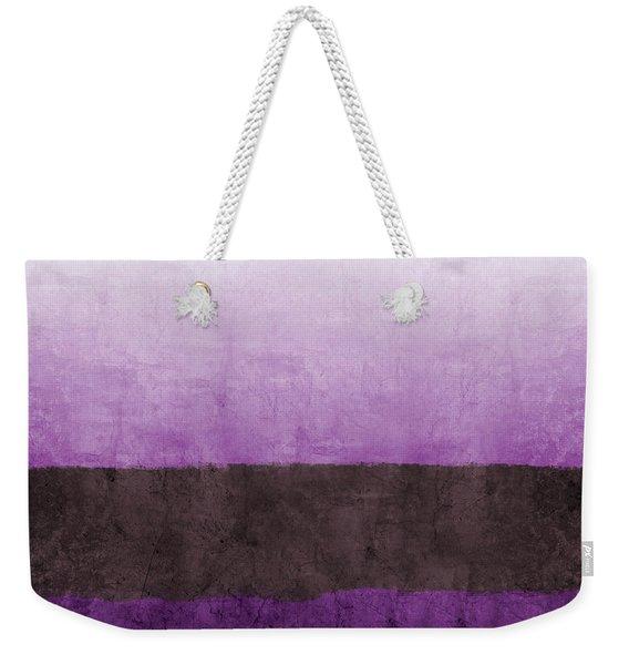 Purple On The Horizon- Art By Linda Woods Weekender Tote Bag