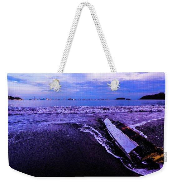 Purple Playa Weekender Tote Bag