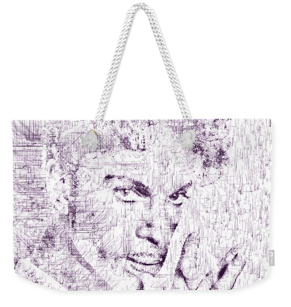 Purple Rain By Prince Weekender Tote Bag